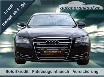 Audi A8 3,0 TDI quattro Tiptronic**20 ZOLL** bei autobarankauf.at – E.R. Auto Handels GmbH in