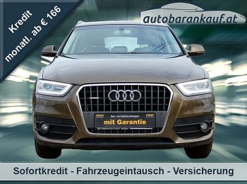 Audi Q3 2,0 TDI quattro DPF S-tronic**S LINE** bei autobarankauf.at – E.R. Auto Handels GmbH in