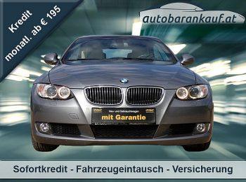 BMW 320d Cabrio Österreich-Paket**NAVI** bei autobarankauf.at – E.R. Auto Handels GmbH in