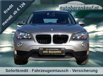 BMW X1 sDrive18i Aut.**BMW CARE PAKET bis 200.000KM** bei autobarankauf.at – E.R. Auto Handels GmbH in