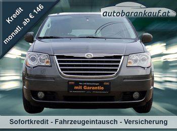 Chrysler Grand Voyager Limited 2,8 CRD Aut. bei autobarankauf.at – E.R. Auto Handels GmbH in