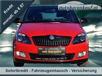 Skoda Fabia Monte Carlo 1,6 TDI DPF bei autobarankauf.at – E.R. Auto Handels GmbH in