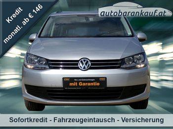 VW Sharan Trendline BMT 1,4 TSI**, GARANTIE, NUR 70.000KM** bei autobarankauf.at – E.R. Auto Handels GmbH in