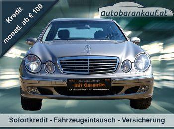 Mercedes-Benz E 320 Elegance 4MATIC Aut.**1. BESITZ** bei autobarankauf.at – E.R. Auto Handels GmbH in