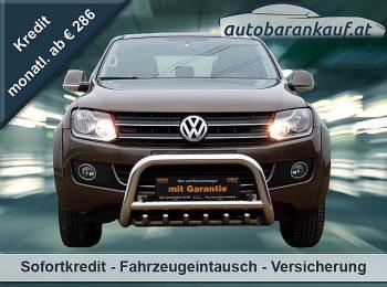 VW Amarok DoubleCab Highline BMT BiTDI 4×4 Aut. bei autobarankauf.at – E.R. Auto Handels GmbH in