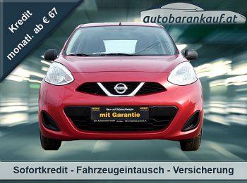 Nissan Micra 1,2 Visia bei autobarankauf.at – E.R. Auto Handels GmbH in