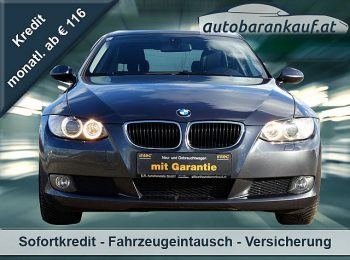 BMW 320d Coupé Österreich-Paket bei autobarankauf.at – E.R. Auto Handels GmbH in
