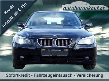 BMW 525d Österreich-Paket**XENON**LEDER bei autobarankauf.at – E.R. Auto Handels GmbH in