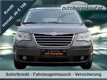 Chrysler Grand Voyager Limited 2,8 CRD Aut. bei autobarankauf.at – E.R. Auto Handels GmbH in
