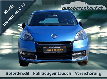 Renault Scénic Energy dCi 110 Bose Edition bei autobarankauf.at – E.R. Auto Handels GmbH in