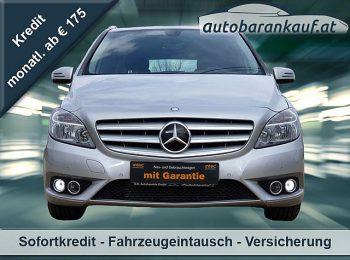 Mercedes-Benz B 180 BlueEfficiency A-Edition Aut. bei autobarankauf.at – E.R. Auto Handels GmbH in