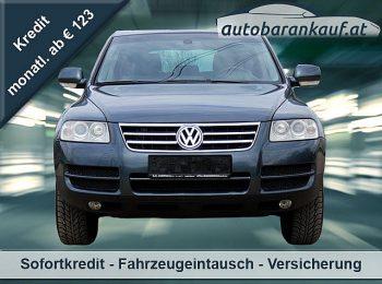VW Touareg 3,0 V6 TDI DPF Tiptronic bei autobarankauf.at – E.R. Auto Handels GmbH in