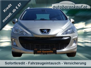 Peugeot 308 1,6 16V VTi Exclusive Tiptronic bei autobarankauf.at – E.R. Auto Handels GmbH in