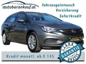 Opel Astra ST 1,6 CDTI Edition St./St. bei autobarankauf.at – E.R. Auto Handels GmbH in