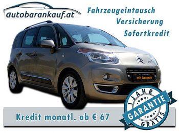 Citroën C3 Picasso 1,4 16V VTi Exclusive bei autobarankauf.at – E.R. Auto Handels GmbH in