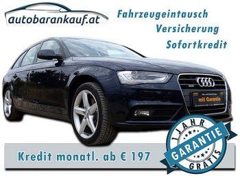 Audi A4 Avant 3,0 TDI quattro DPF S-tronic*1 Jahr Garantie* bei autobarankauf.at – E.R. Auto Handels GmbH in