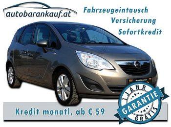 Opel Meriva 1,4 ecoFlex Turbo Edition bei autobarankauf.at – E.R. Auto Handels GmbH in