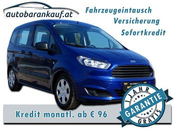 Ford Tourneo Courier 1,0 EcoBoost Start/Stop Ambiente bei autobarankauf.at – E.R. Auto Handels GmbH in