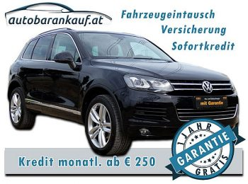 VW Touareg Mountain V6 TDI BMT 4Motion Aut. **VOLLAUSSTATTUNG** bei autobarankauf.at – E.R. Auto Handels GmbH in