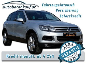 VW Touareg V6 TDI BMT 4Motion Aut. **VOLLAUSSTATTUNG** bei autobarankauf.at – E.R. Auto Handels GmbH in