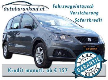 Seat Alhambra Style 2,0 TDI CR DPF **LEDER** bei autobarankauf.at – E.R. Auto Handels GmbH in