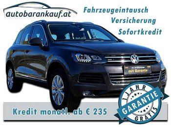 VW Touareg V6 TDI BMT 4Motion Aut. bei autobarankauf.at – E.R. Auto Handels GmbH in