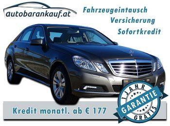 Mercedes-Benz E 350 Elegance BlueEfficiency CDI Aut. bei autobarankauf.at – E.R. Auto Handels GmbH in