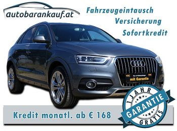 Audi Q3 2,0 TDI Offroad Style **LEDER, NAVI, PANORAMA** bei autobarankauf.at – E.R. Auto Handels GmbH in