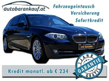 BMW 530d xDrive Touring Aut. **VOLLAUSST. NP: € 94.000.– ** bei autobarankauf.at – E.R. Auto Handels GmbH in