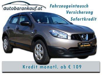 Nissan Qashqai 1,6 16V Visia Start/Stop 2WD **nur 34.000 km** bei autobarankauf.at – E.R. Auto Handels GmbH in