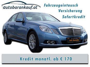 Mercedes-Benz E 250 Elegance BlueEfficiency CDI Aut. bei autobarankauf.at – E.R. Auto Handels GmbH in