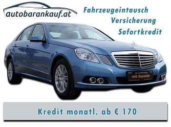 Mercedes-Benz E 250 Elegance BlueEfficiency CDI Aut. bei autobarankauf.at – E.R. Auto Handels GmbH in