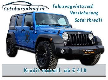 Jeep Wrangler Unlimited Rubicon 2,8 CRD Aut. bei autobarankauf.at – E.R. Auto Handels GmbH in