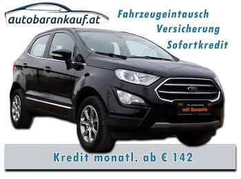 Ford EcoSport 1,0 EcoBoost Titanium bei autobarankauf.at – E.R. Auto Handels GmbH in